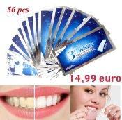 56pcs Bandes de Blanchiment des Dents Professionelles