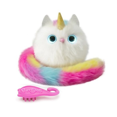 peluche Pomsies Patches CHAT LICORNE