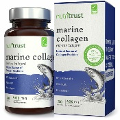 Capsules de peptides de collagène marin, 400 mg, par Nutritrust®