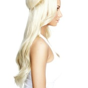 HALO EXTENSION A ENFILER BLOND PLATINE
