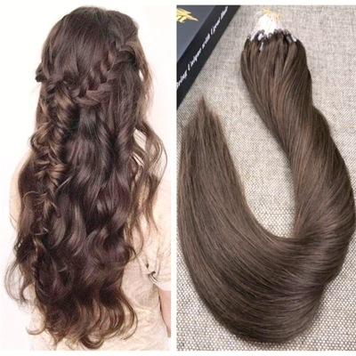 EXTENSIONS  LOOPS RAIDES 1G -CHATAIN CHOCOLAT 02