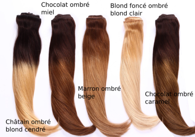 cheveux russe 120 g