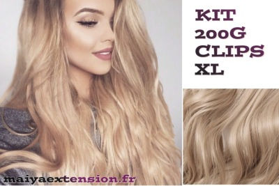 Extensions clips quebec taille XL 200G